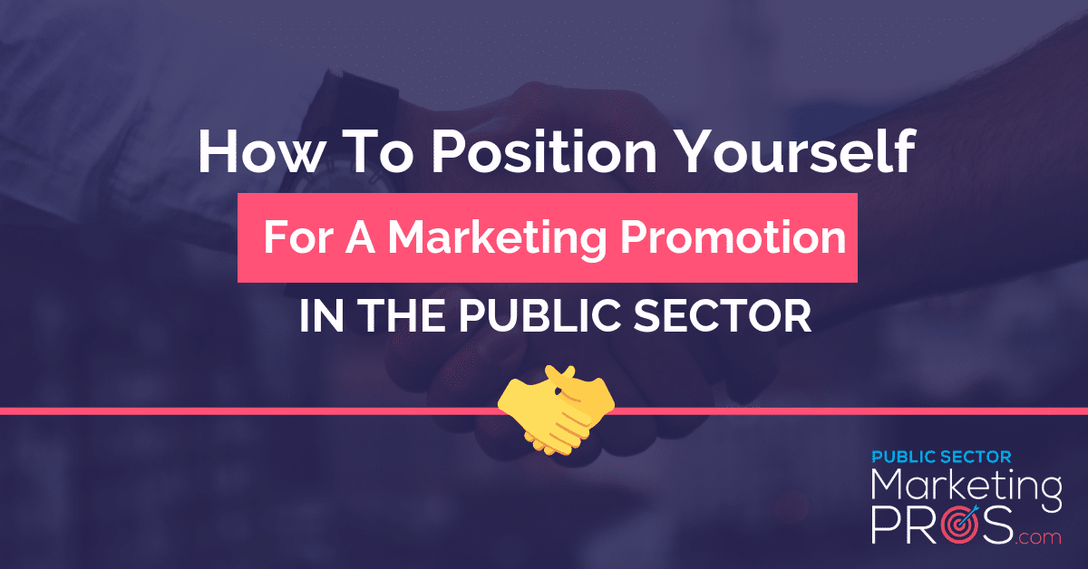 marketing promotion in the public sector