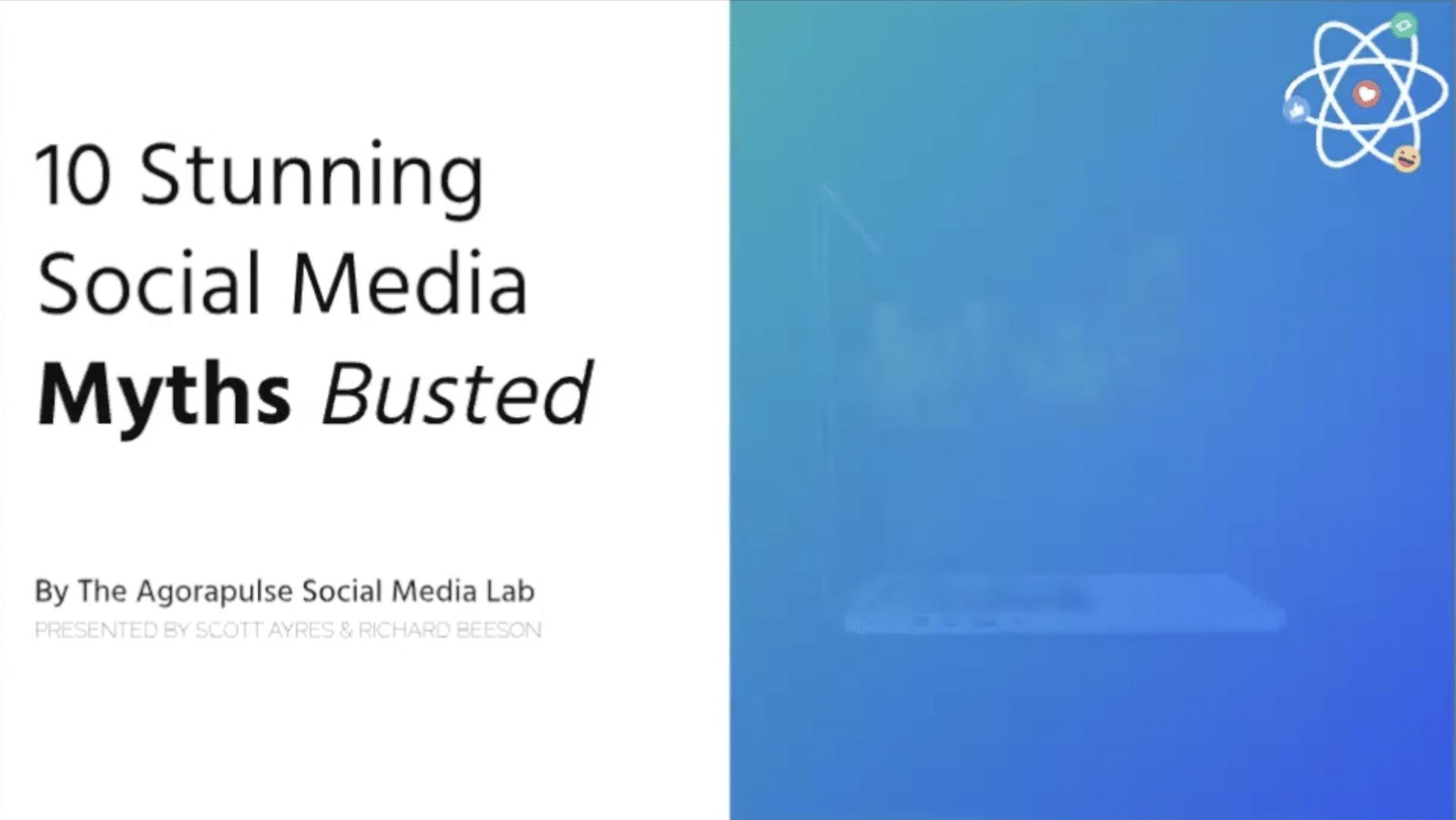 EXPERT WEBINAR: 10 Stunning Social Media Myths Busted with Scott Ayres