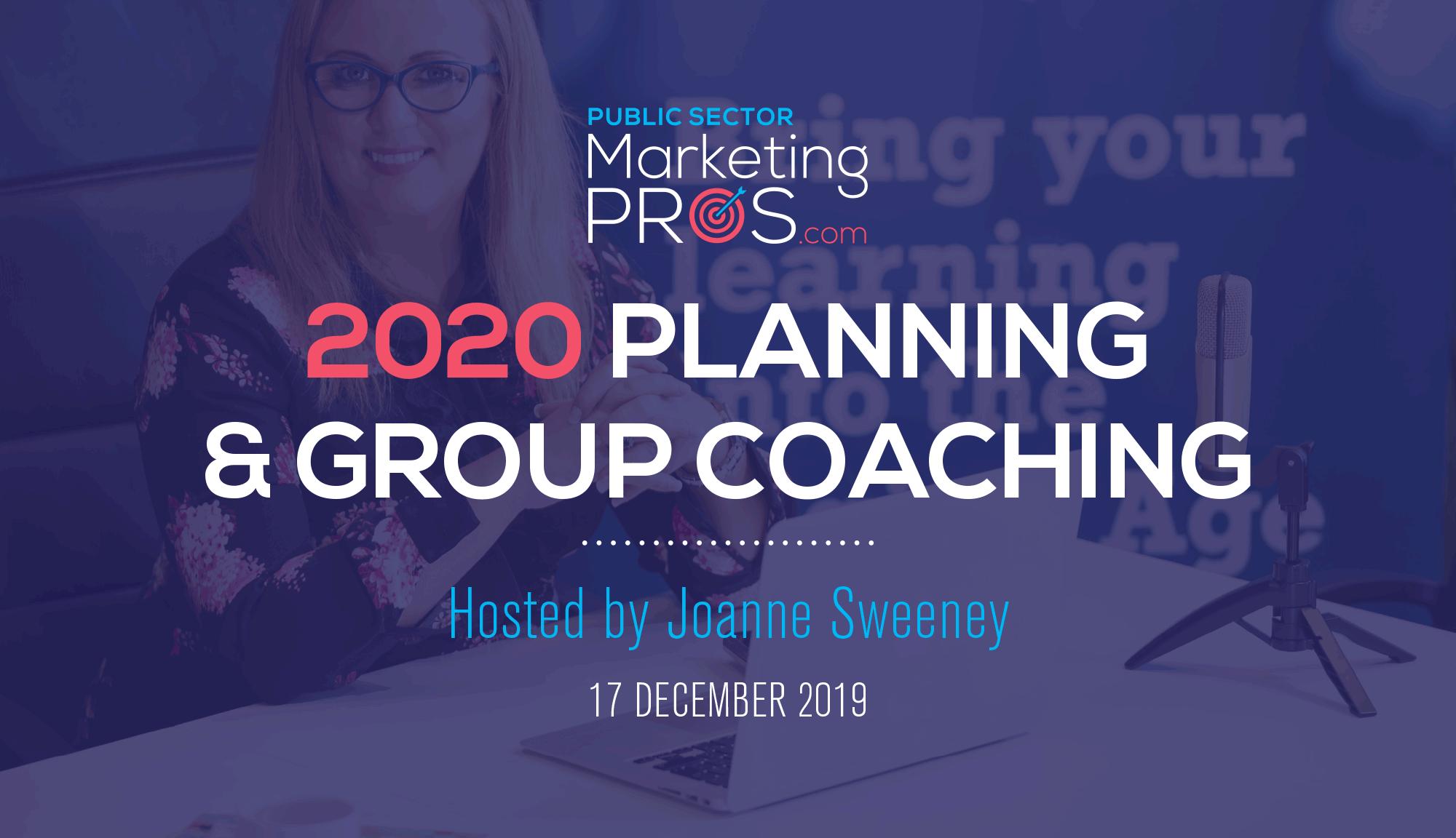 2020 Planning & Group Coaching Webinar