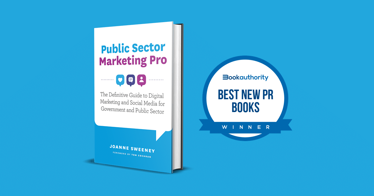 Public Sector Marketing Pro Named Top PR Book for 2020