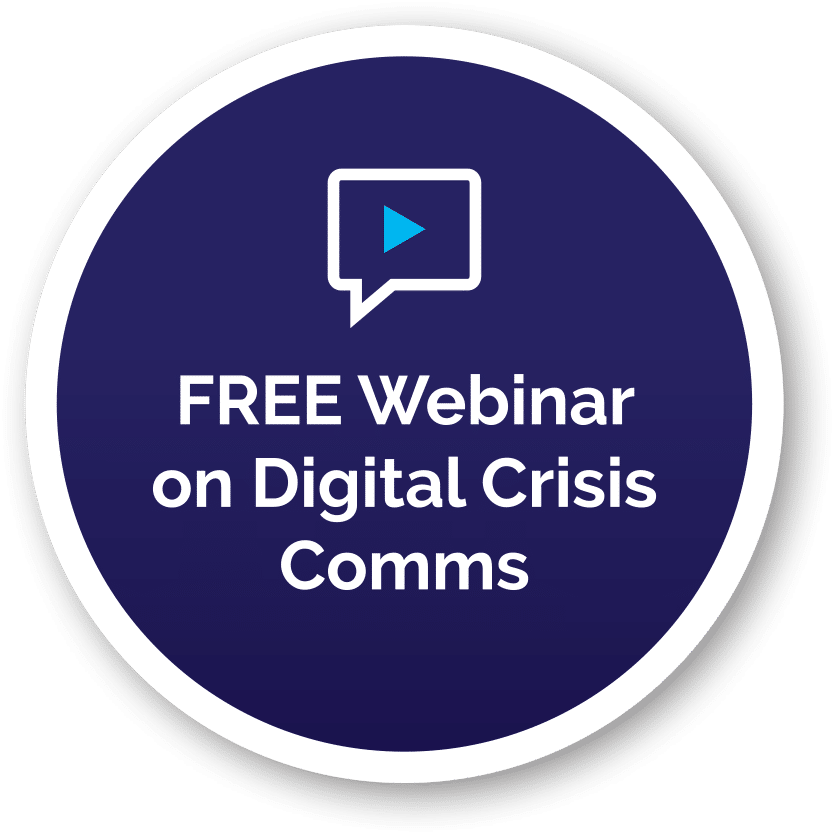 FREE Webinar on Digital Crisis Comms