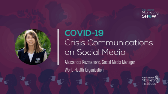 Social Media at the World Health Organisation During COVID-19