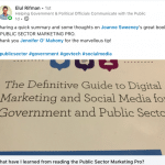 BOOK REVIEW: 'What have I learned from reading the Public Sector Marketing Pro?'