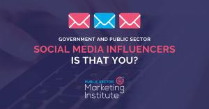 Government as Social Media Influencers
