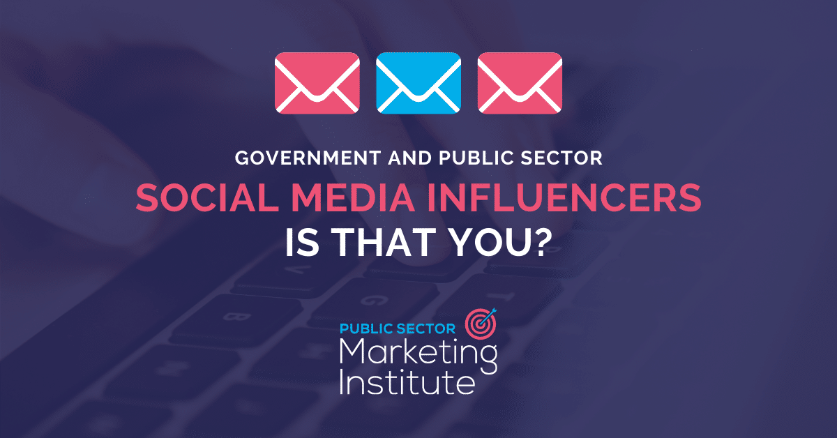 Can Government & Public Sector Agencies Be Social Media Influencers?