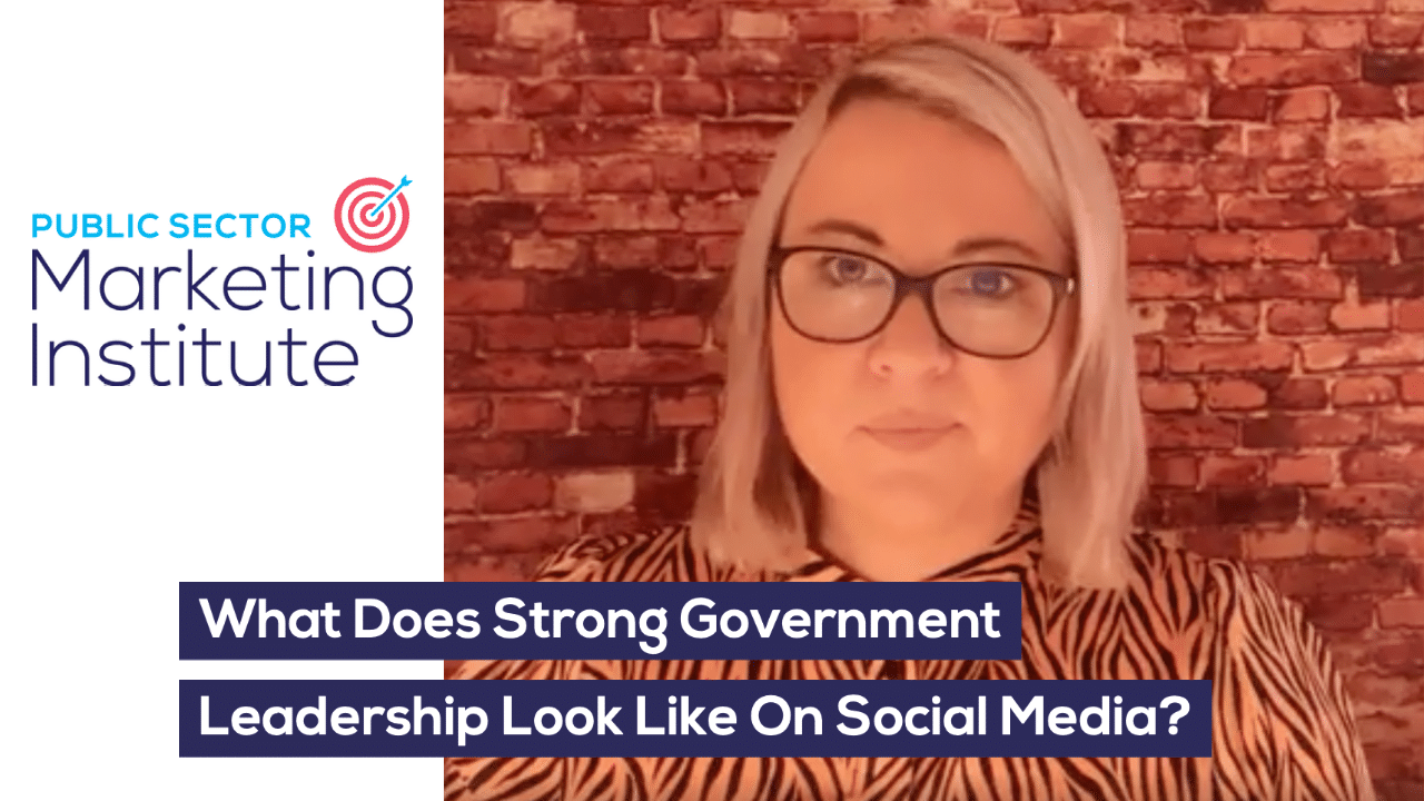 What Does Strong Government Leadership Look Like On Social Media?