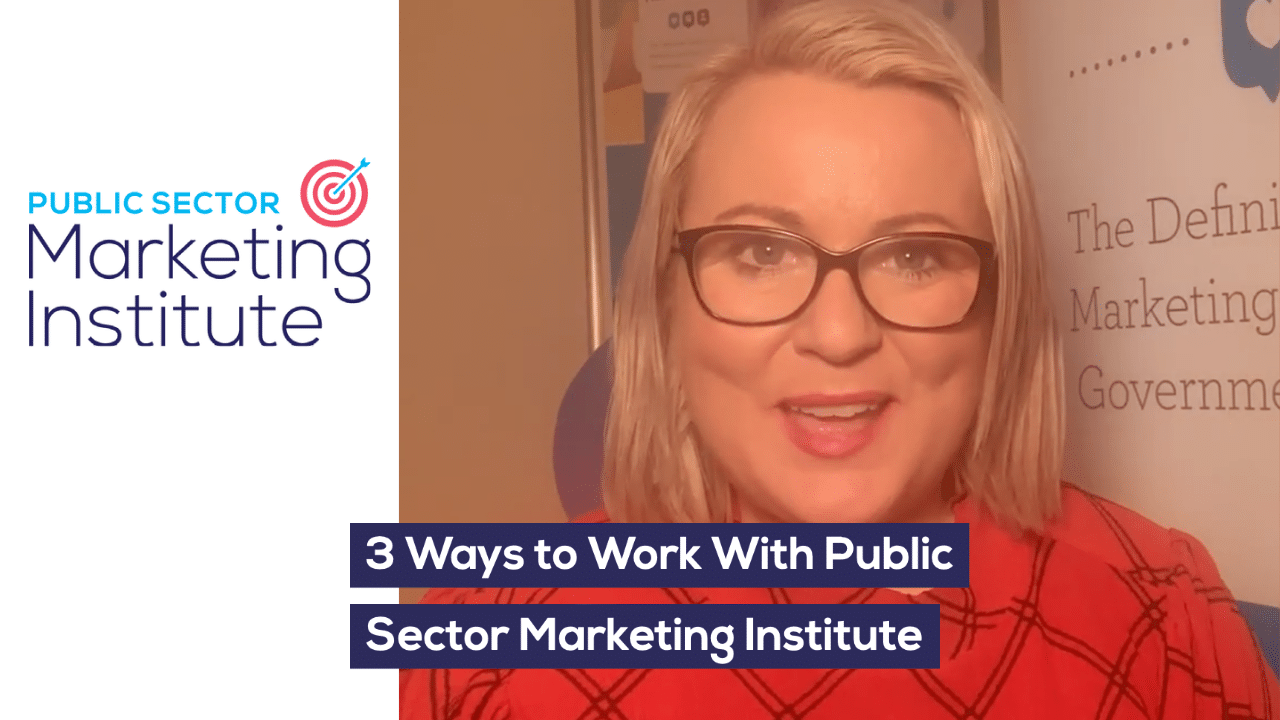 3 Ways to Work With Public Sector Marketing Institute
