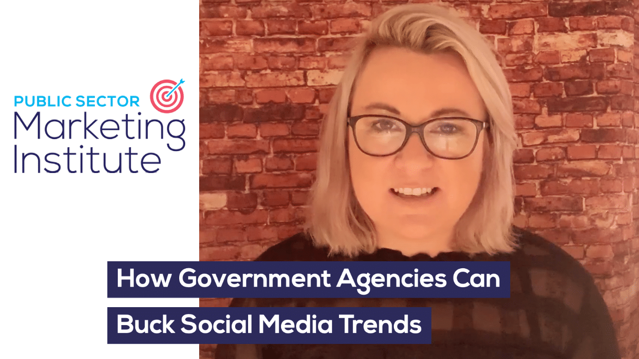 How Government Agencies Can Buck Social Media Trends