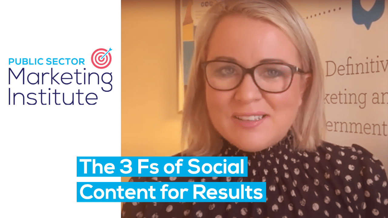 Thumbnail The 3 Fs of Social Content for Results