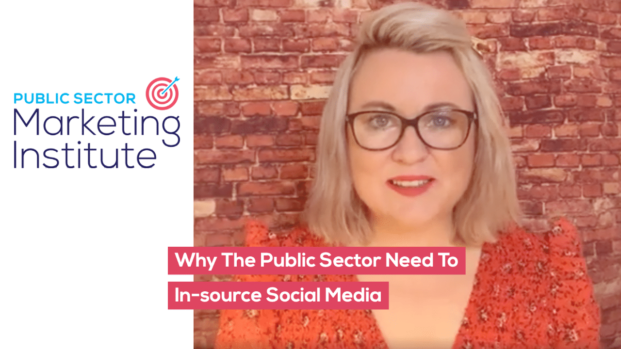 Why The Public Sector Need To In-source Social Media