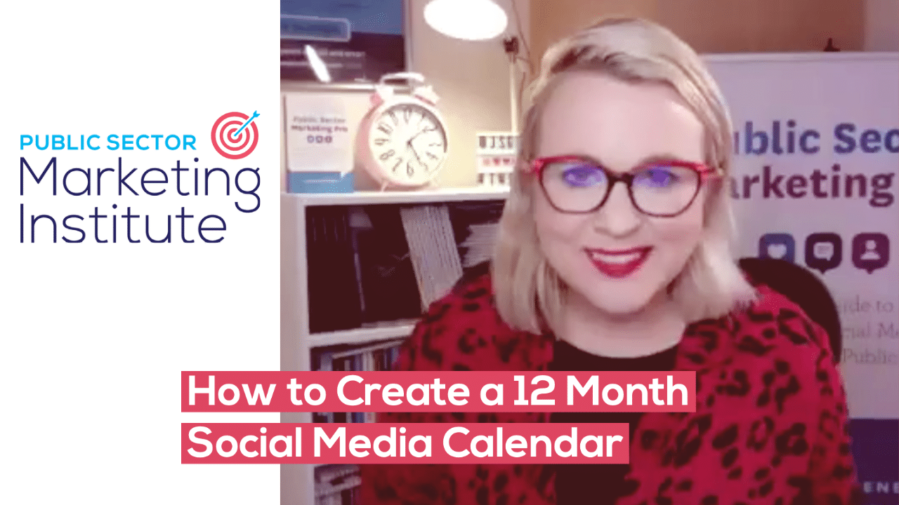 How to Create a 12 Month Social Media Calendar