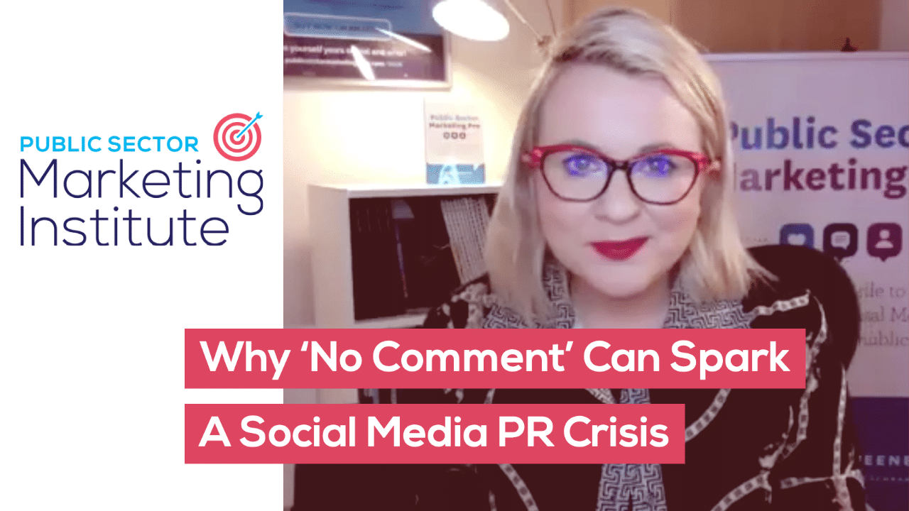 Why 'No Comment' Can Spark A Social Media PR Crisis