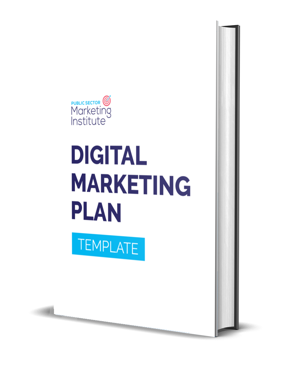 Digital Marketing Plan Template Cover