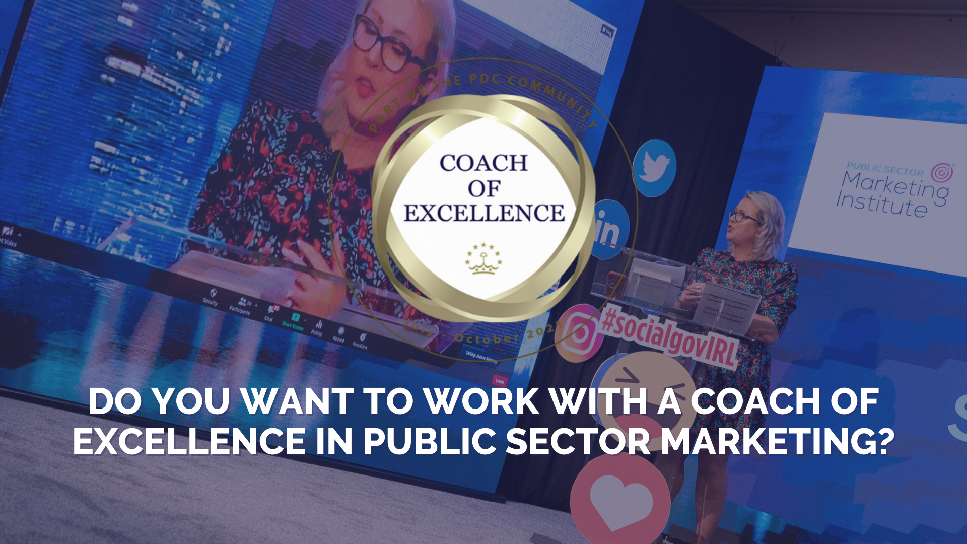 Do You Want To Work With A Coach of Excellence in Public Sector Marketing?